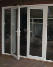 Window to French Door Conversion